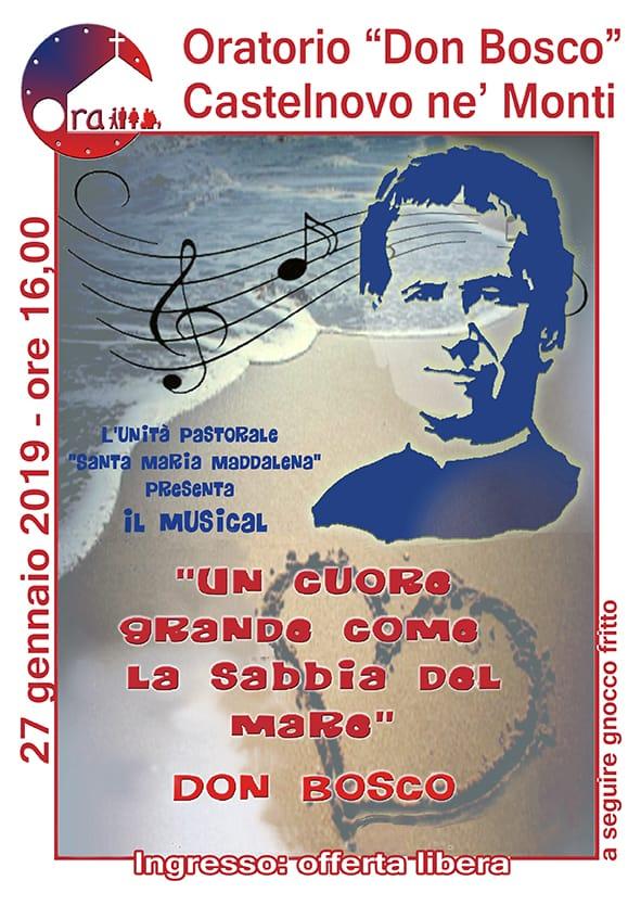 """Musical: """"Un cuore grande come la sabbia del mare"""" – 27 gennaio 2019"""