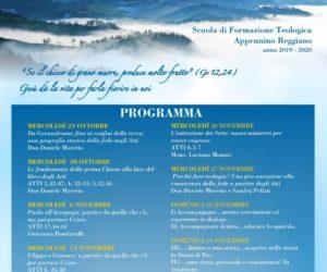 Scuola di Formazione Teologica 2019-2020