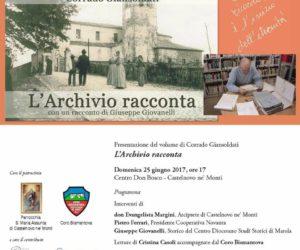 """Presentazione libro """"L'archivio racconta"""" di Corrado Giansoldati"""