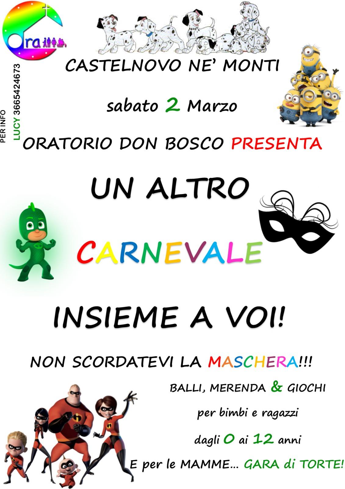 FESTA DI CARNEVALE 2019