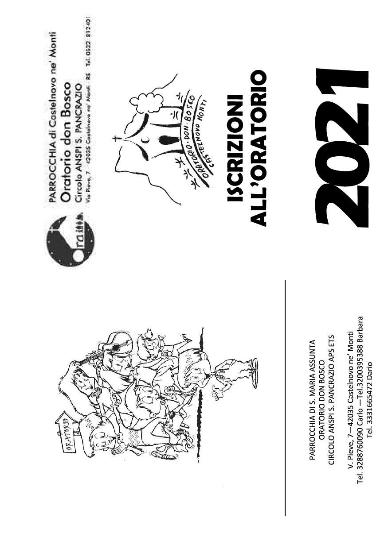Tesseramento circolo ANSPI 2021